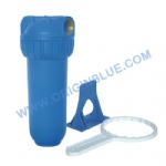 Single stage Water filter blue housing