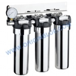 Stainless steel Triple Filter