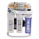 7 stage Reverse Osmosis system with shelf